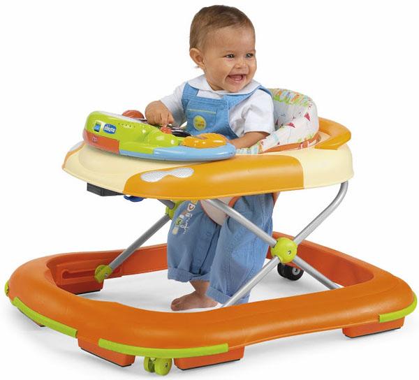 Les meilleures marchettes pour bébés Chicco