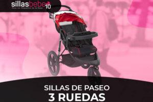 Mejores sillas de paseo de 3 ruedas