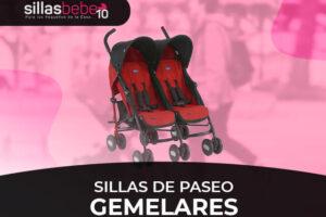 Mejores sillas de paseo gemelares